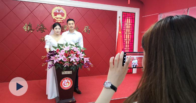 宁波结婚登记又爆棚 预约名额半个月前就抢空