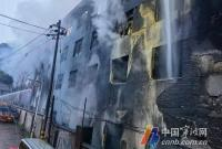 鄞州一厂房凌晨发生火灾 防盗窗上预留的细节救了6条人命