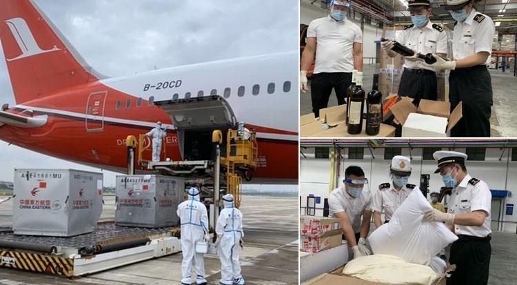 第二届中国―中东欧国家博览会首批入境展品抵达宁波