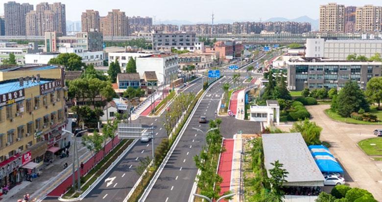 宁波城西又添交通动脉 新丰路(中山西路-春池路)投入使用