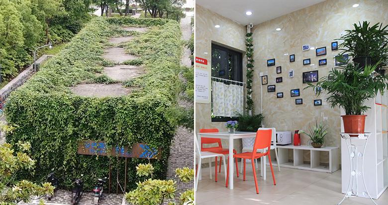 宁波这间绿色公厕 美得像童话小屋
