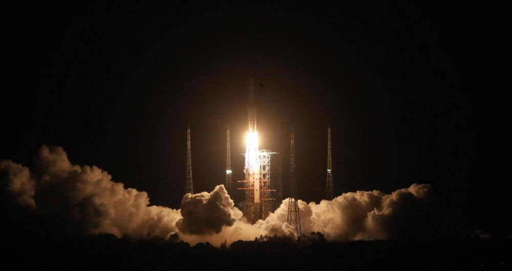 天舟二号货运飞船发射任务取得圆满成功
