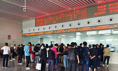 宁波汽车南站、中心站、东站、北站可购买端午假期车票
