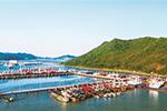 伏休的渔港