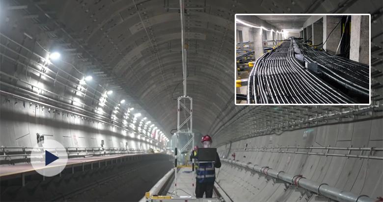 """10天实现从""""轨通""""到""""电通"""" 宁波地铁5号线一期有新进展"""
