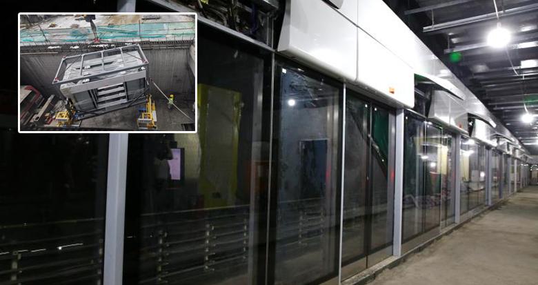 36小时完成整个车站站台门安装 宁波地铁试点智能化施工