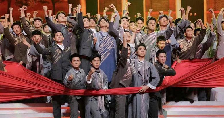 庆祝中国共产党成立100周年文艺演出首次专场演出顺利举行