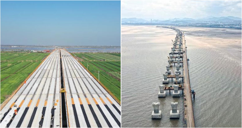 杭甬高速复线宁波段一期工程总投资完成过半