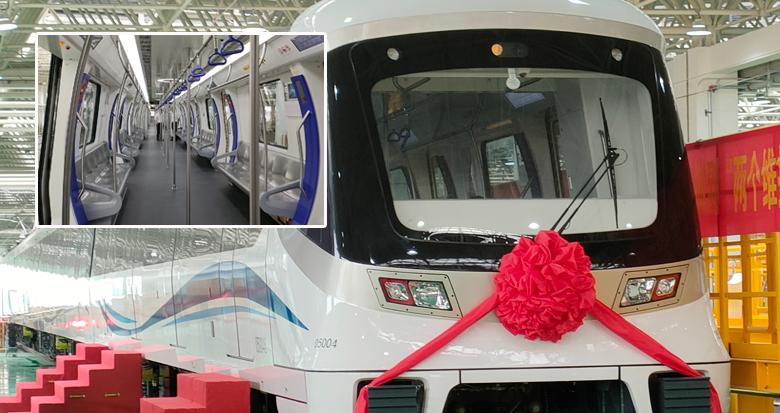 全省首列全自动运行地铁列车来了!宁波5号线一期联调联试