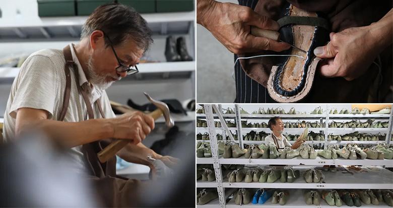 宁波有位坚守45年的老鞋匠 他的技艺入选市级非遗