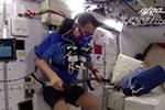 出差一个月身体咋样?3名航天员在空间站互做超声
