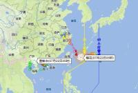 今明两天宁波大雨局部暴雨 24日到26日暴雨到大暴雨