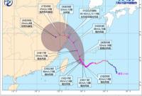 """""""烟花""""或将于25日夜间至26日在浙江中北部沿海登陆"""