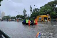 宁波市区三江干流洪水风险:奉化江北渡段仍为红色预警