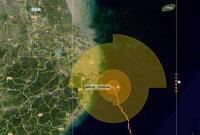 """台风""""烟花""""12时30分登陆舟山普陀 今晚将二次登陆"""