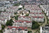 水库泄洪 海曙洞桥、鄞江水位持续上涨 救援工作持续