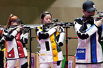 杨倩参加的气步枪有多难:运动员站在10米外其实看不清靶心