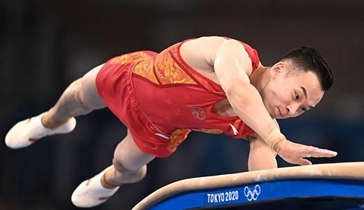 肖若腾获体操男子个人全能亚军