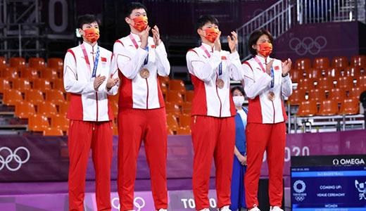 三人篮球女子组中国队获铜牌