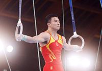 第26金!刘洋获得奥运会竞技体操男子吊环金牌