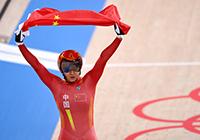 第28金!钟天使/鲍珊菊获场地自行车女子团体争先赛冠军