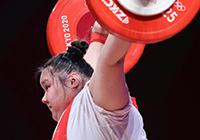 第29金!李雯雯获得举重女子87公斤以上级金牌