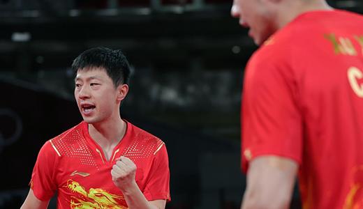 乒乓球男团:中国队晋级四强