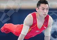 第31金!邹敬园获得奥运会体操男子双杠金牌