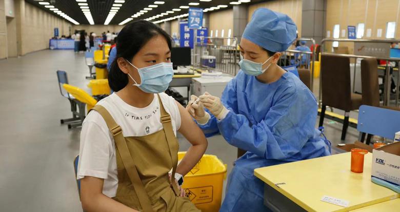 江北启动首批15-17岁青少年新冠疫苗集中接种