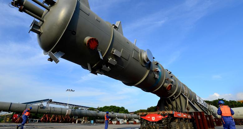 """总重299吨!镇海制造""""大块头""""启运前往俄罗斯"""
