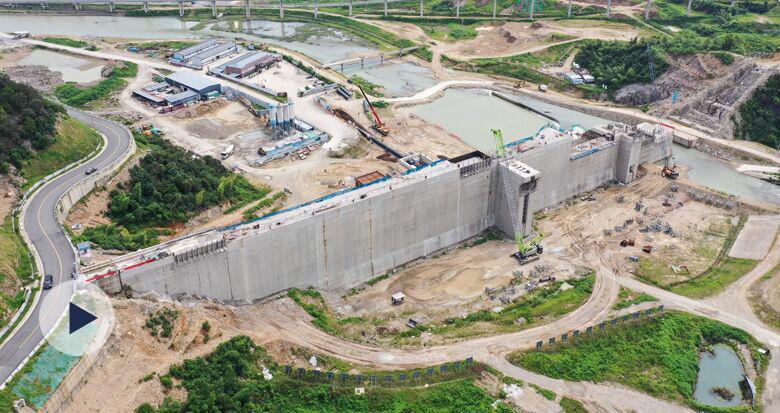 奉化葛岙水库施工进行中 年内将具备蓄水条件