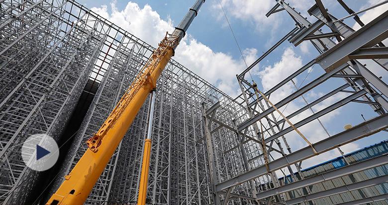 宁波这个自动化立体仓库下月完工 仓储量可达2万吨