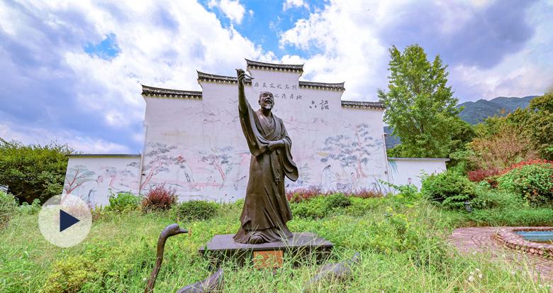"""""""书圣""""王羲之晚年隐居过的这个宁波古村 将迎最美季节"""