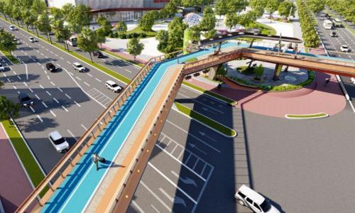 宁波将新建一座人行天桥 就在这个路口