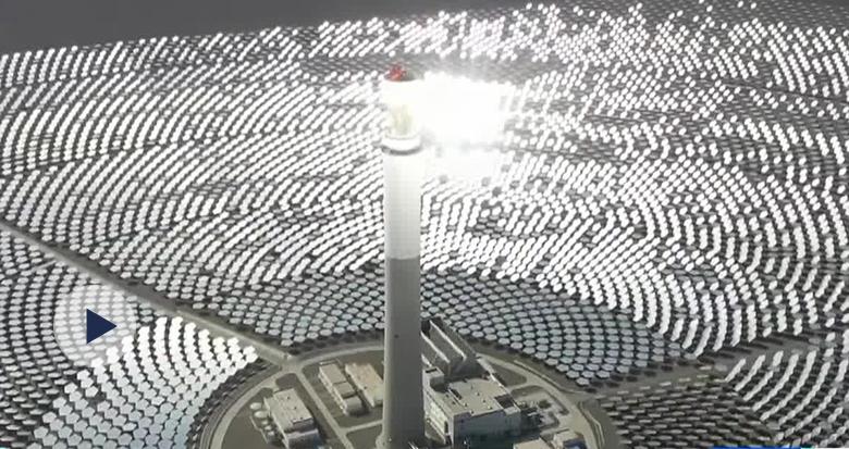 """""""超级镜子发电站""""来了!堪比科幻大片!一年或发电近2亿度"""