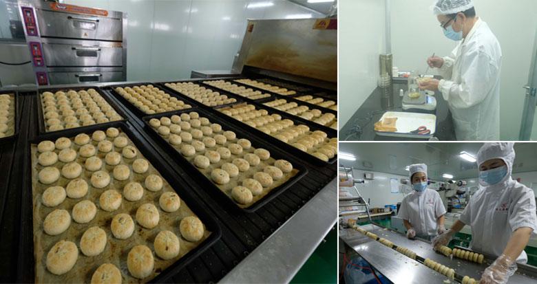 从源头把好质量关 记者探访月饼生产企业