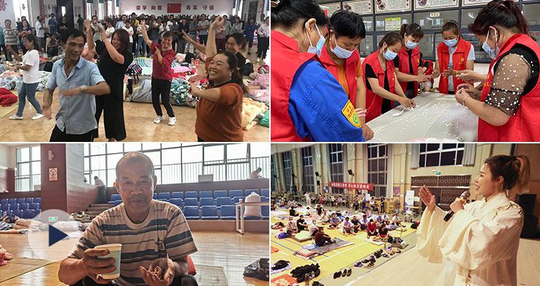 吃月饼、听越剧、跳广场舞...宁波各地安置点暖心活动多