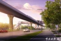 头上就是地铁!鄞州南部这条重要道路即将全线通车