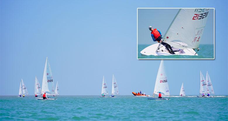 第十四届全国运动会帆船比赛(宁波赛区)正式开赛