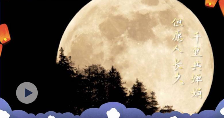 中秋花好月圆时