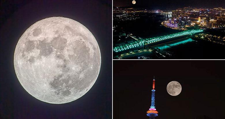中秋月圆 一大波宁波赏月美图来了
