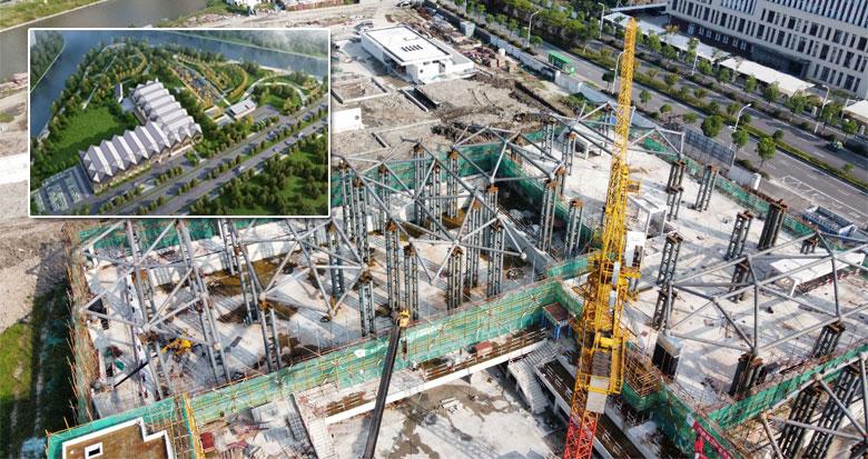 宁波市游泳训练中心完成土建 年底完工