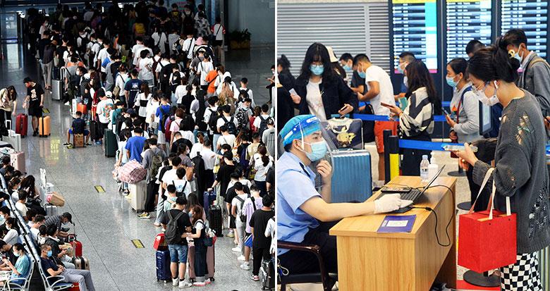 宁波火车站、宁波机场出现客流高峰
