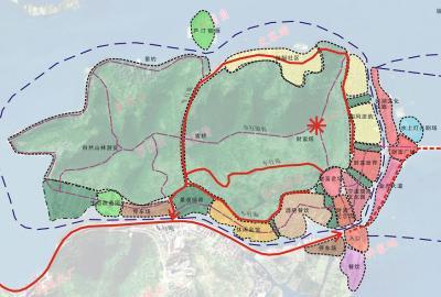 宁波沙滩景区地图